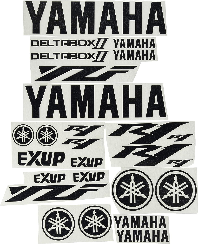 Ecoshirt 54-8AAU-UEQ0 Stickers Arrow F206 Stickers Aufkleber Decals Moto GP Bike Red