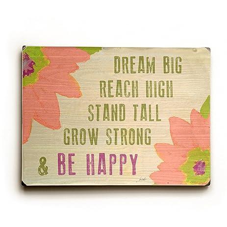 Amazon.com: Dream Big Reach High by Artist Lisa Weedn 9\