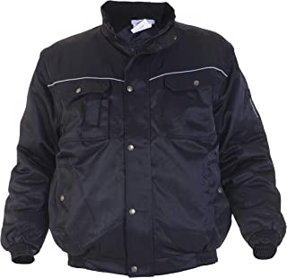 Hydrowear 047467 Laren 3 in 1 Pilot Jacket, Beaver, 50% Polyester/50% Cotton, Small Size, Black