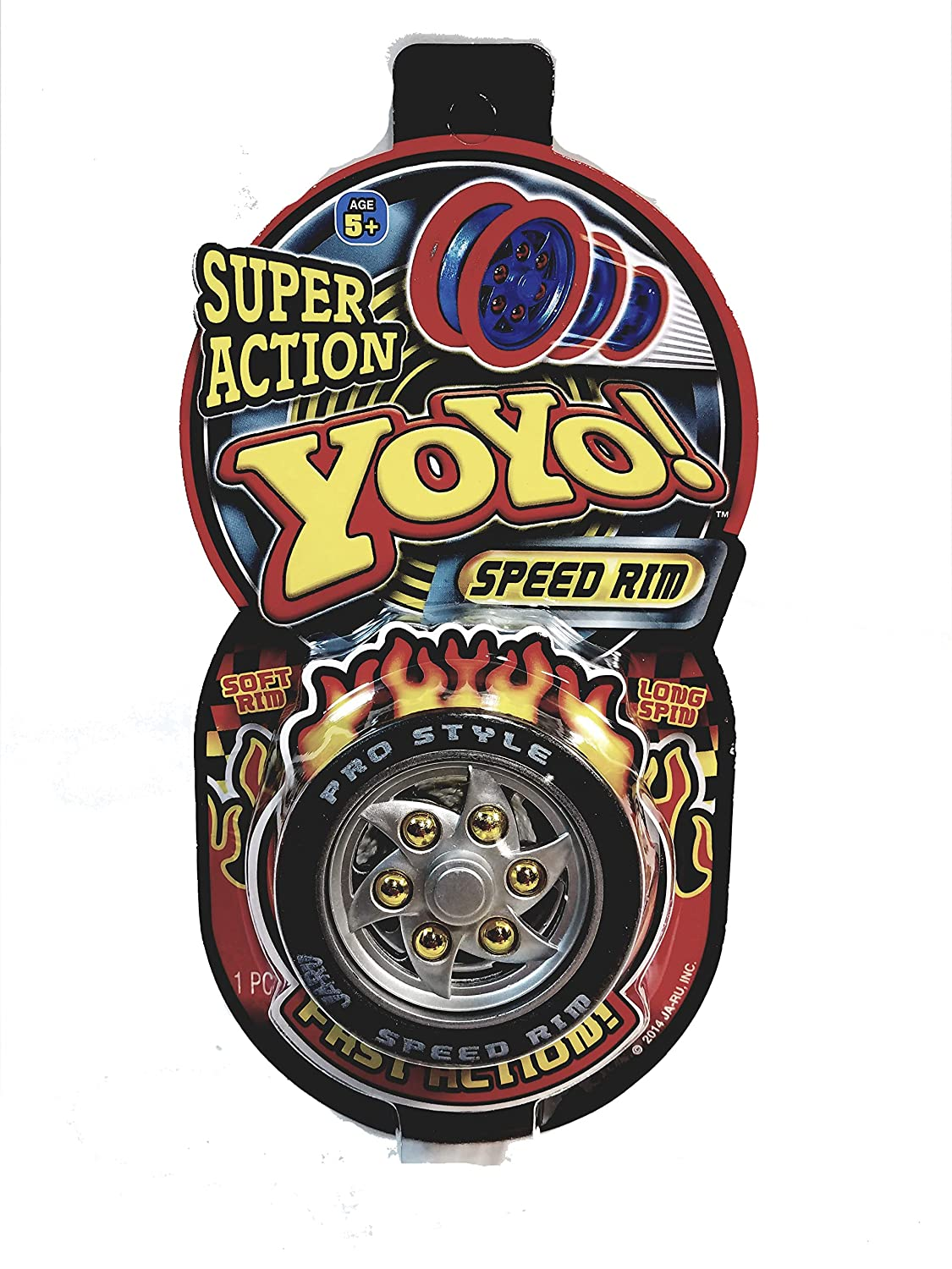 Amazon.com: Metaltech Super Action Yo Yo Speed Rim Black ...
