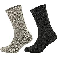 GoWith 2'li Alpaka Doğal Yünlü Kışlık Çorap Seti 3094
