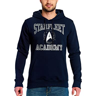 Star Trek Sudadera con Capucha Starfleet Academy con Capucha ...