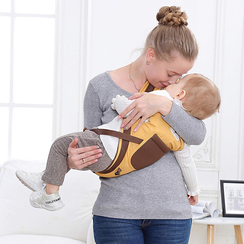 anpassbar Bauchtasche f/ür Babys und Kleinkinder und Bebe Multifunktion 10 in 1 weich Atmungsaktiv f/ür Damen und Herren mit Anca und H/üfte tragen Baby Stirnband 0-36 Monate 3-20 kg Baumwolle