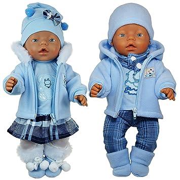 Puppen & Zubehör Puppenkleidung für Baby Born Puppen 43cm T-Shirt