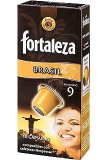 Nespresso compatible - Café Fortaleza Colombia - 10 cápsulas ...