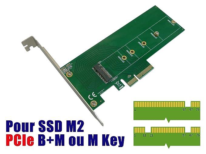 Kalea-Informatique© – Tarjeta controladora PCIe x4 para SSD M.2 ...
