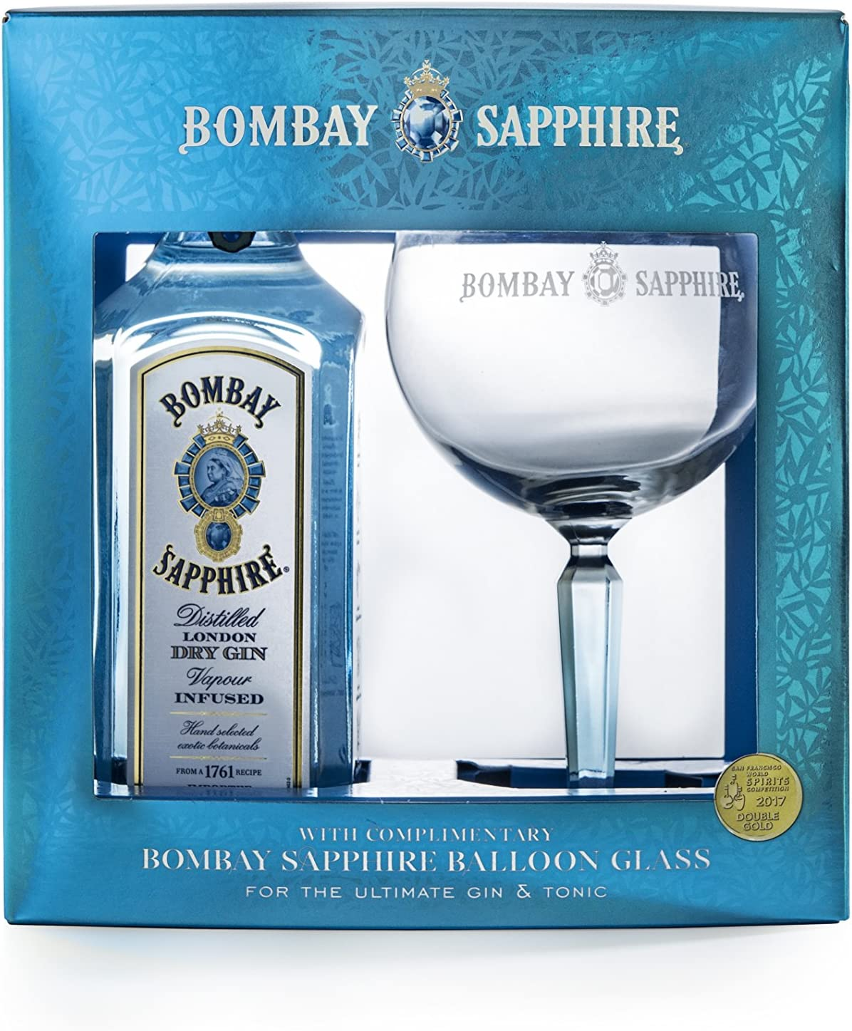 Bombay Sapphire Limited Edition Gin Gift Pack: Amazon.es ...