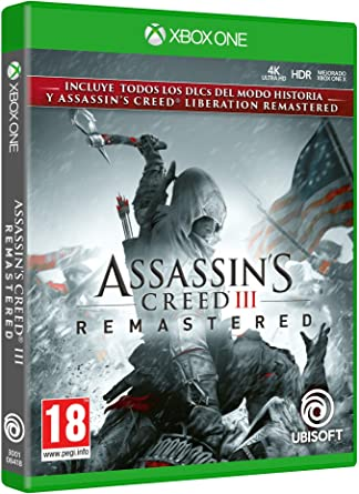 Assassins Creed III Remastered: Amazon.es: Videojuegos