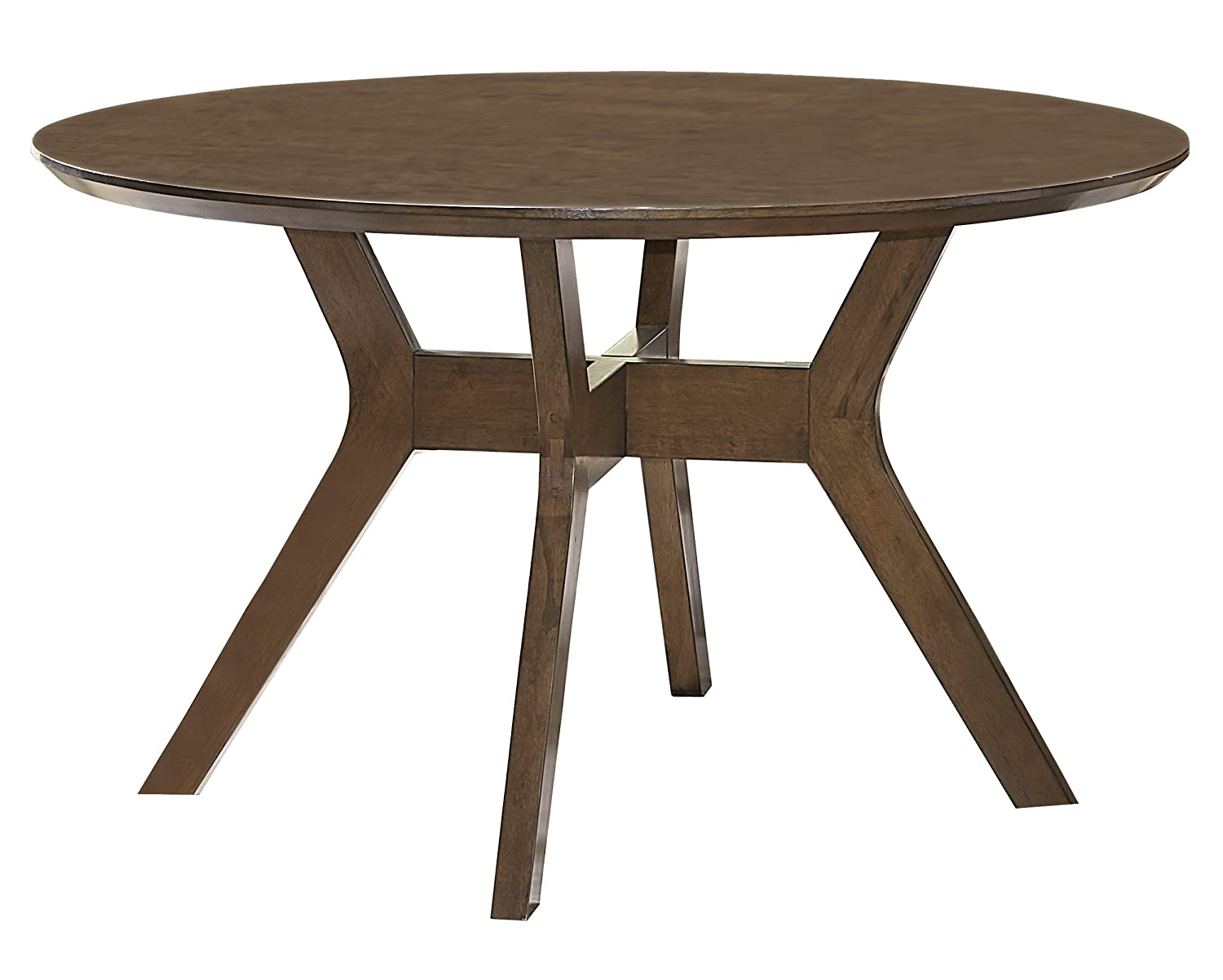 52 Round Table.Homelegance Edam 52 Round Dining Table Oak