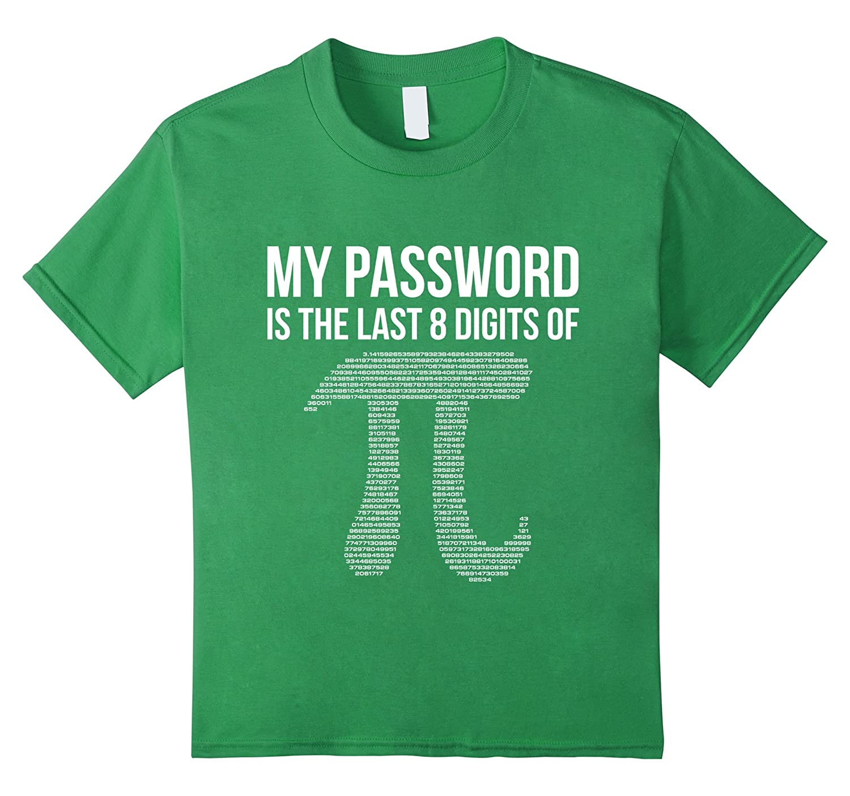Mens My Password Pi Tshirt-Tovacu