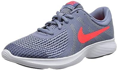 newest d46f7 9962a Nike Revolution 4 (GS), Chaussures de Running Compétition garçon,  Multicolore (Ashen