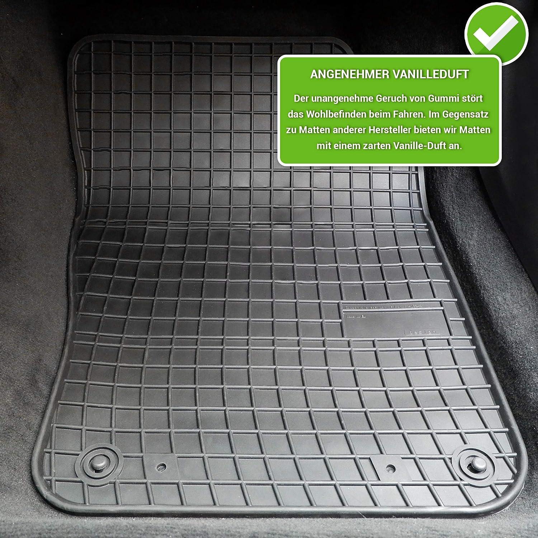 passend f/ür VW Lupo moto-MOLTICO Gummimatten Auto Fu/ßmatten Gummi Automatten Passgenau 4-teilig Set Seat Arosa 1997-2005