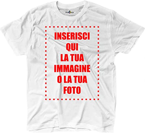 Camiseta Camiseta con impresión Personalizada Hombre Texto ...