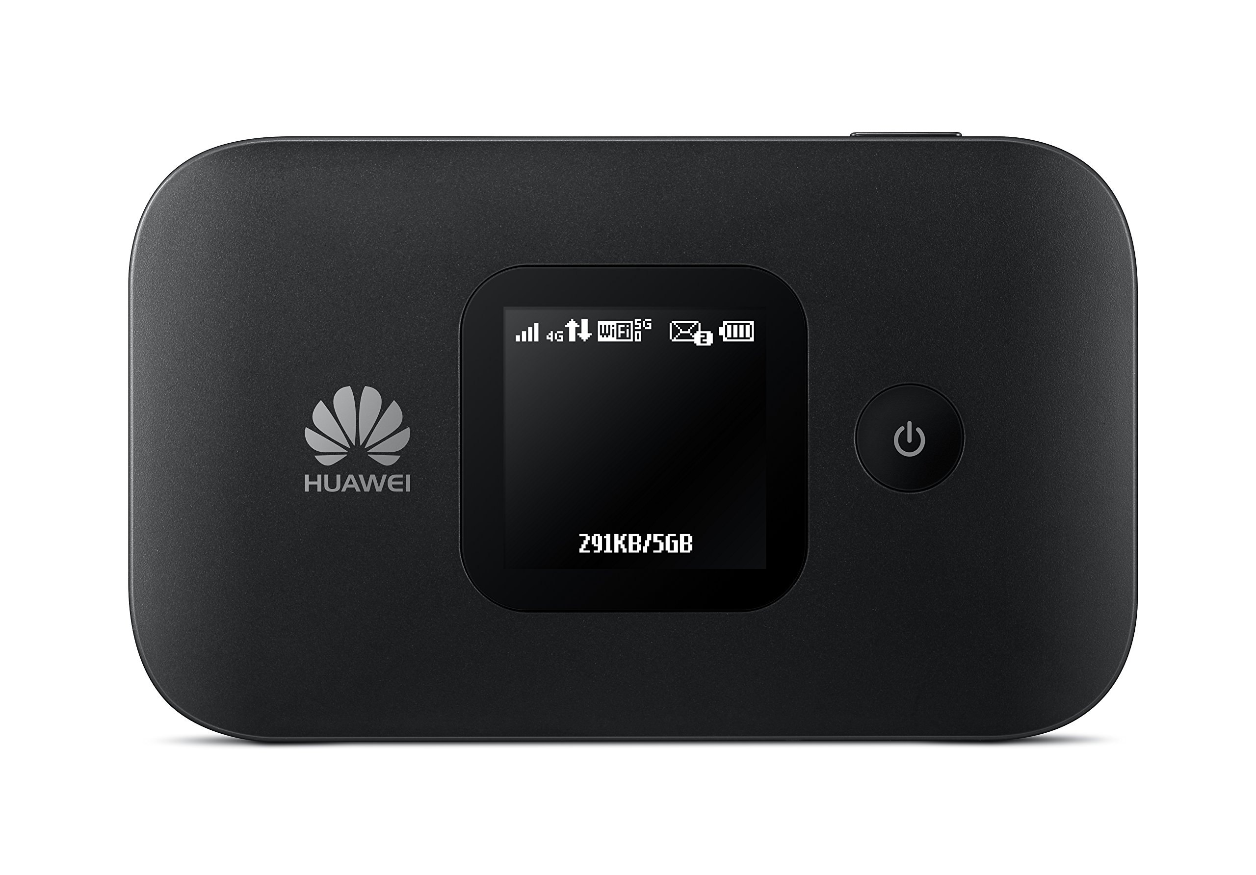 Huawei E5577Cs-321 4G LTE Mobile WiFi Hotspot (4G LTE in Europe, Asia, Middle East, Africa & 3G globally) Unlocked/OEM/ORIGINAL from Huawei WITHOUT CARRIER LOGO (Black) by HUAWEI