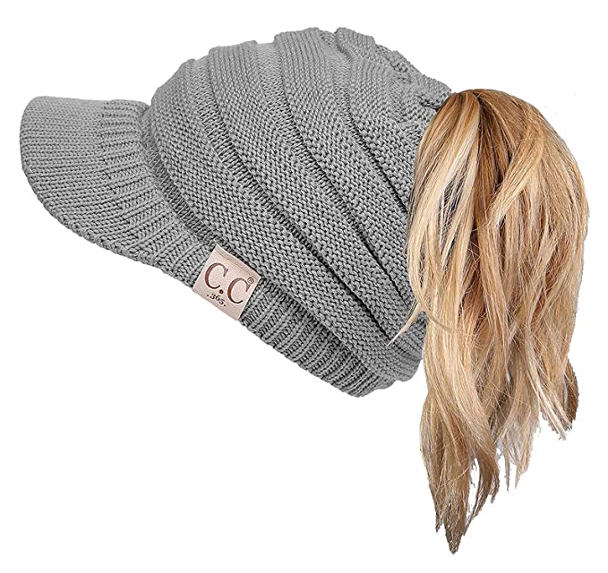 958a3d9b7d8 BT1-1322-51 365 All Season Brim BeanieTail - Heather Grey at Amazon ...