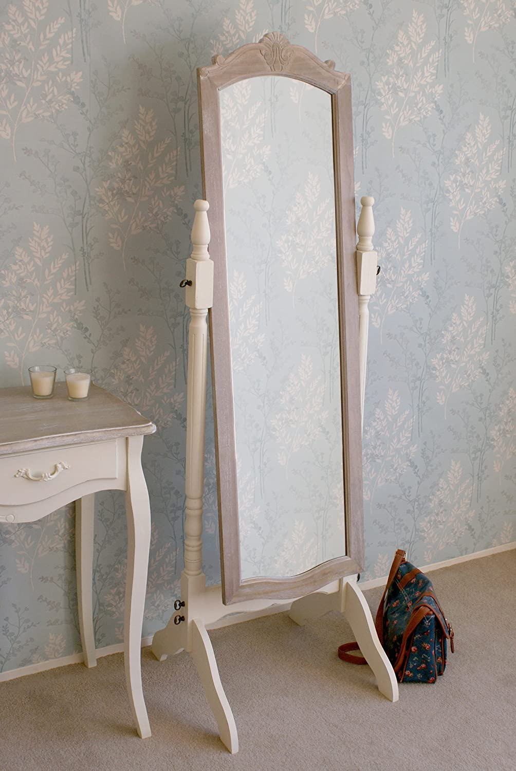 Leisure Traders Casamoré Devon Freestanding/Tall Cheval Mirror in a ...