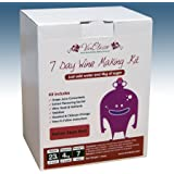 Home Brew & Wine Making - VinClasse® Italian Style Red Wine 7 Day (Sugar Required) Ingredient Kit For 30 Bottles