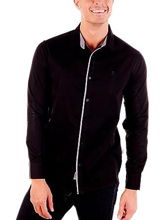 Lois Camisa Hombre Michael Blaky Negro XL: Amazon.es: Ropa y ...