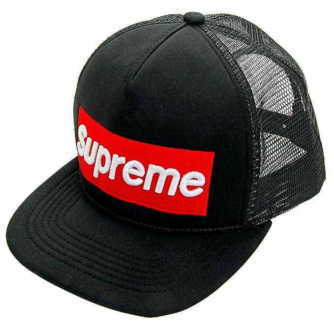 molti stili 2019 prezzo all'ingrosso prodotti caldi Supreme - Cappellino da baseball - Uomo nero nero: Amazon.it ...