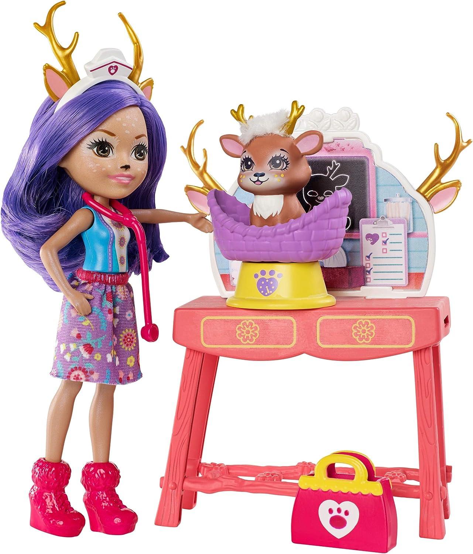 Enchantimals Caring Vet Playset with Danessa Deer Doll [Amazon Exclusive]