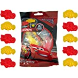 Disney Pixar Cars 3 Lightning McQueen Lollipops, 10 Count Bag