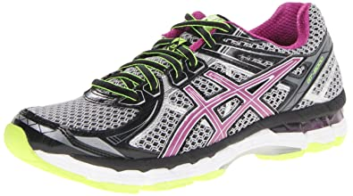 ASICS Women's GT 2000 2 Running Shoe,Black/Orchid/Flash Yellow,13