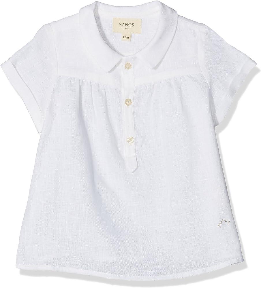 Nanos 1813312701 Camisa, Blanco, One Size (Tamaño del Fabricante:12M) para Bebés: Amazon.es: Ropa y accesorios