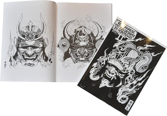 The tatto shop Flash Art tipo libro A4 - 100 japonés Designs by ...