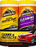 Armor All 10848 Protectant and Cleaning Wipes - 25 sheets (pack of 2)