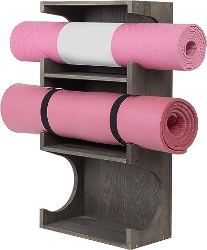 Amazon.com: MyGift - Esterilla de almacenamiento para yoga y ...