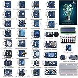 SunFounder 37 módulos Arduino Kit de Sensor v2.0 para Arduino UNO R3 Mega2560 Mega328 Nano