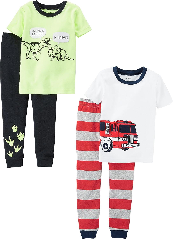 Carters Baby-Girls 2-Pack Cotton Pajamas Pajama Set