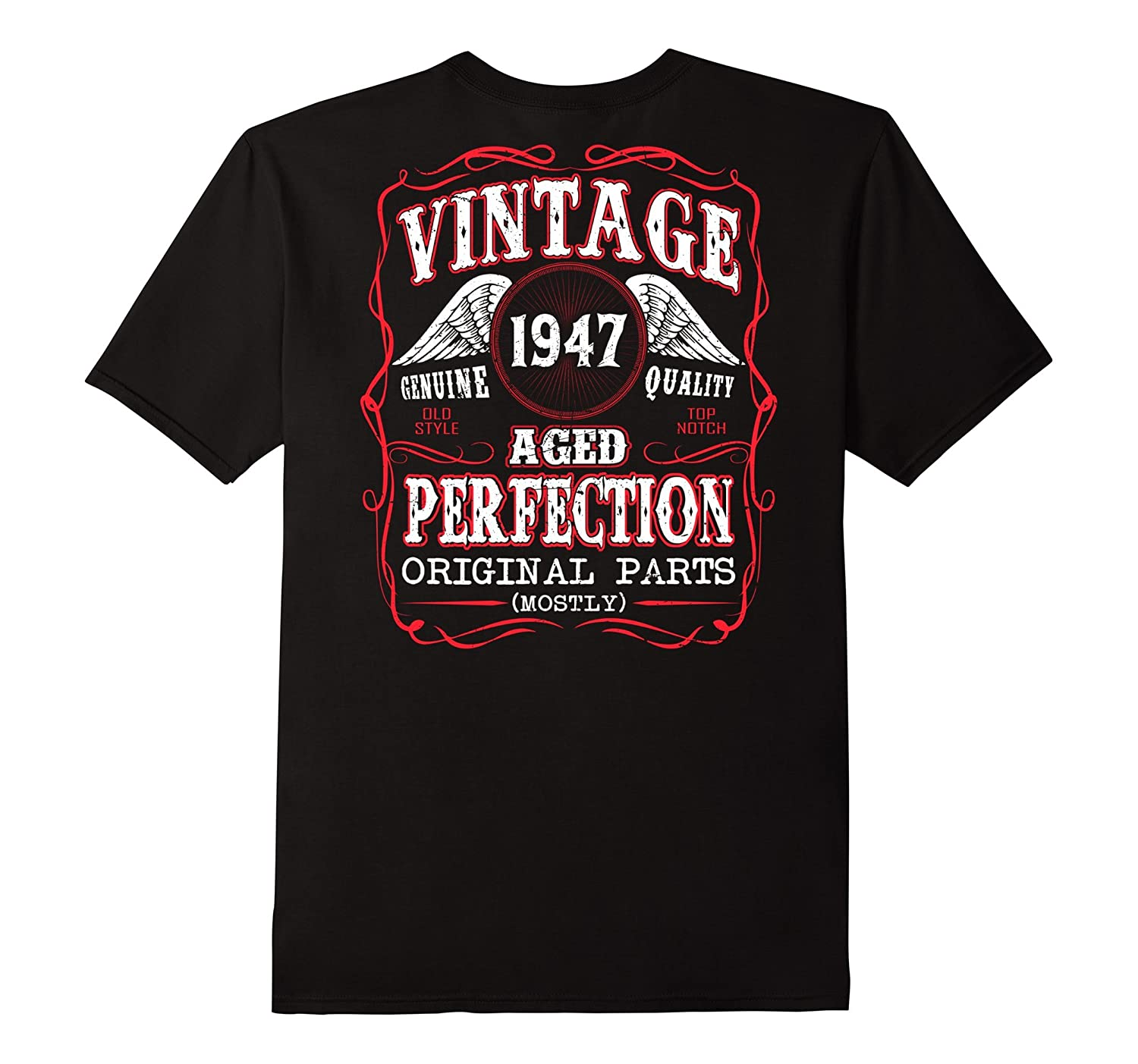 Vintage Aged Of Perfection Legend Born In 1947 70 Years Old-PL