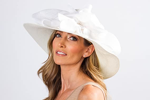 49b6b6326a762 Ladies Kentucky Derby Hat at Amazon Women s Clothing store  kentucky derby  hats amazon