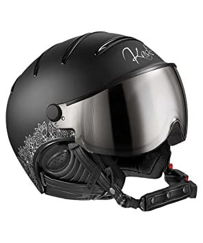 Kask Cascos Elite Lady Black 58