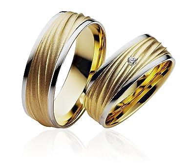 Gold Trauringe Verlobungsringe In 585 Gold Eheringe Gelbgold 6 50 Mm