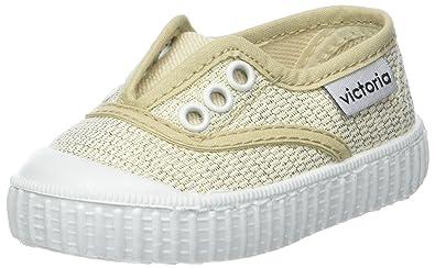 victoria Unisex-Kinder Inglesa Elástico Lurex Sneaker, Mehrfarbig (Multicolor), 34 EU