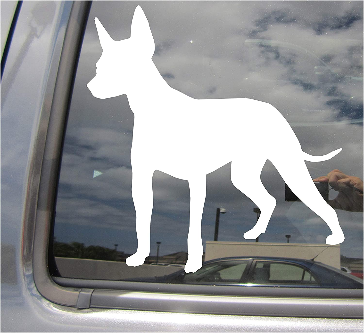 I Love My Chihuahua Sticker Vinyl Decal Car Window Dog Puppy Mexican Breed
