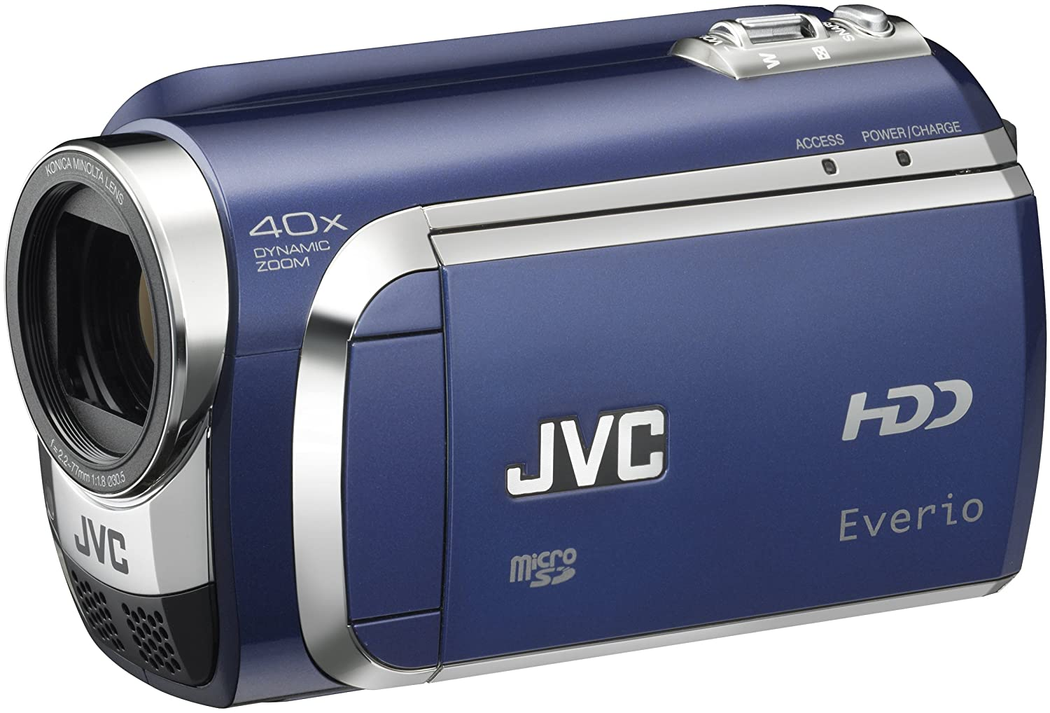 Amazon.com : JVC Everio GZ-MG630 60GB Standard Def Camcorder (Blue)  (Discontinued by Manufacturer) : Jvc Camcorder Accessories : Camera & Photo