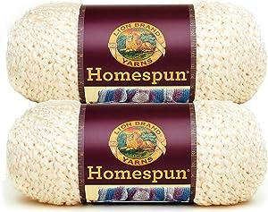 Bulk Buy: Lion Brand Homespun Yarn (2-Pack) (Deco #790-309)
