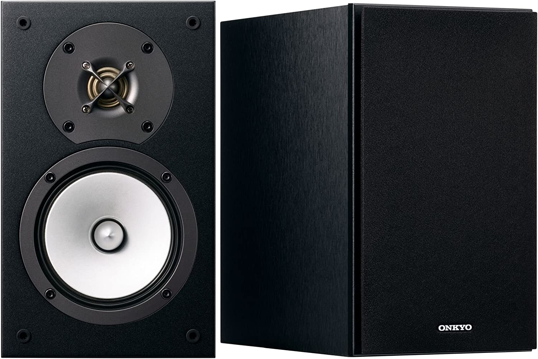 Onkyo Europe Electronics D de 165de B de 2Vías Altavoces Bass Reflex, N- OMF de Membrana, de 30mm de Tweeter de Negro