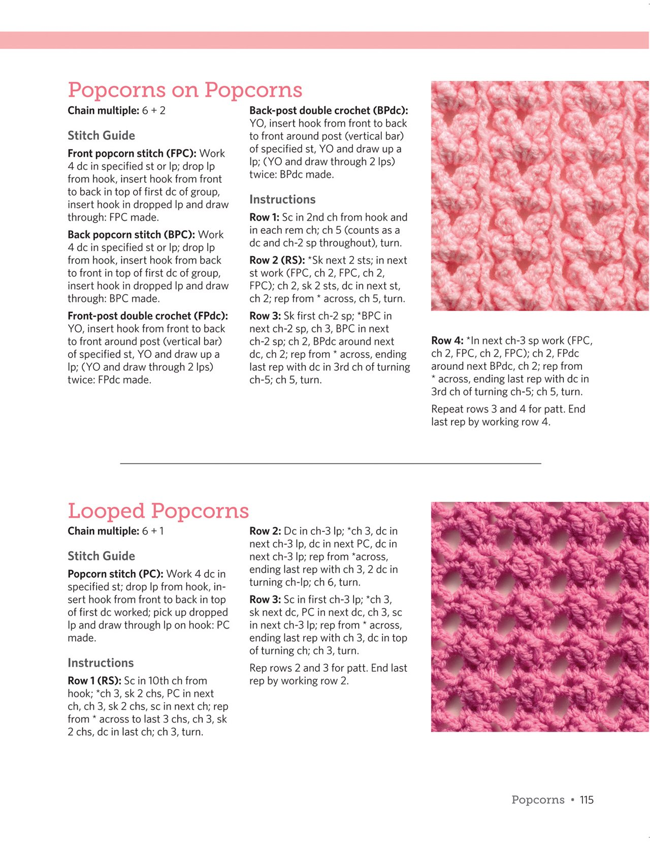 The Big Book of Crochet Stitches: Fabulous Fans, Pretty Picots, Clever Clusters and a Whole Lot More