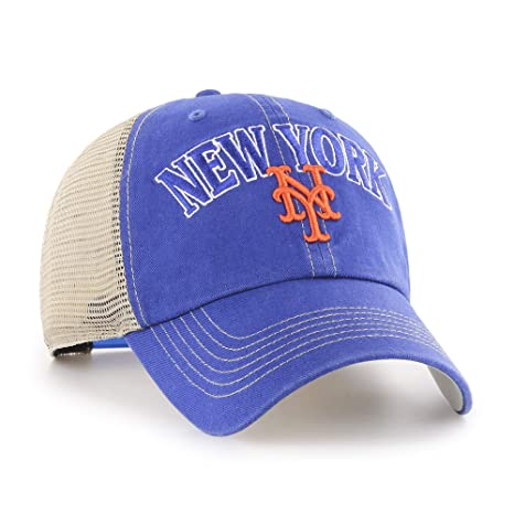 Image Unavailable. Image not available for. Color  Fan Favorite MLB New  York Mets Aliquippa Mesh Back Adjustable Hat 82a1ff8abb10