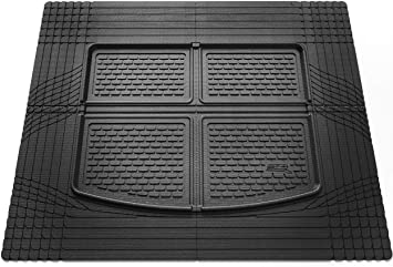 3D MAXpider Universal All-Weather Hybrid Rubber Cargo Boot Mat for Cars Trucks SUVs Large