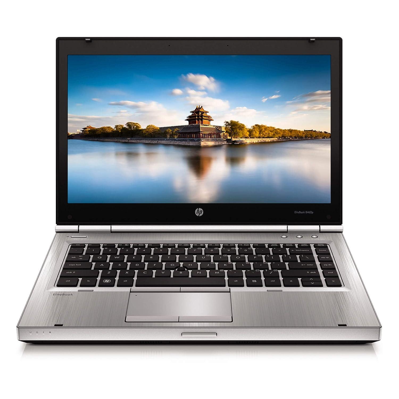 HP EliteBook 8460P 14-inch Notebook PC - Intel Core i5-2520M 2 5GHz 4GB  250GB Windows 10 Home (4GB RAM 10 Home)