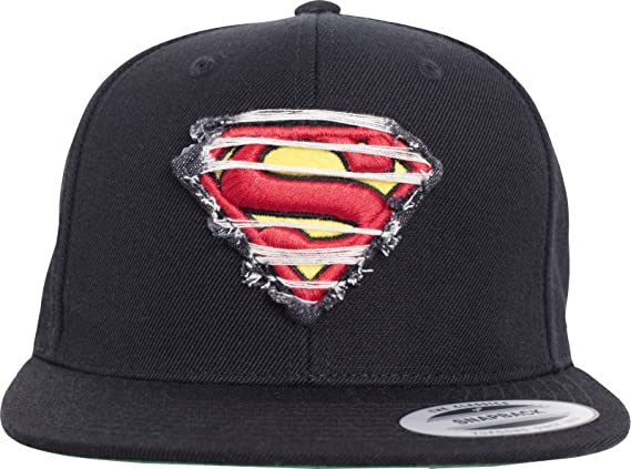 Merchcode destroyed Superman Snapback mc146