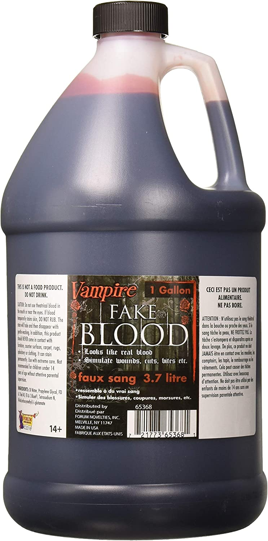 Forum Novelties Party Supplies, 1 gallon, Red