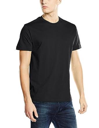 Stedman Apparel Men's Classic/ST2000 Regular Fit Short Sleeve T-Shirt,  Black Opal