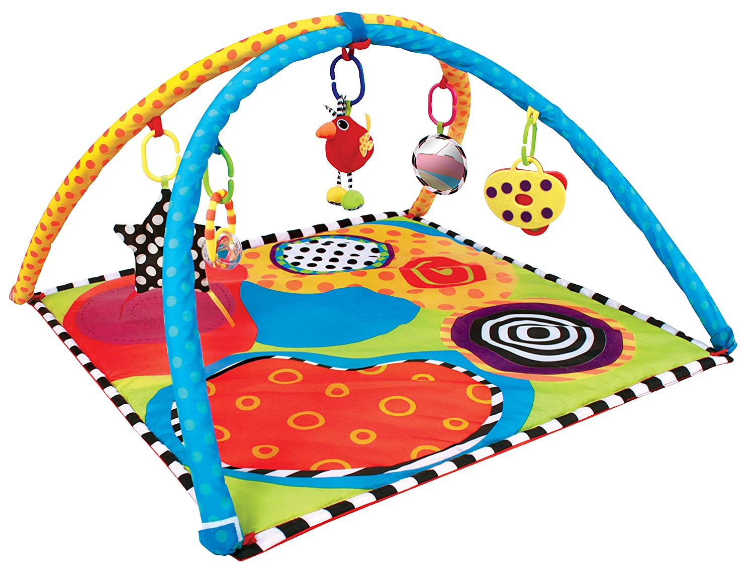amazoncom  sassy developmental playmat  baby -