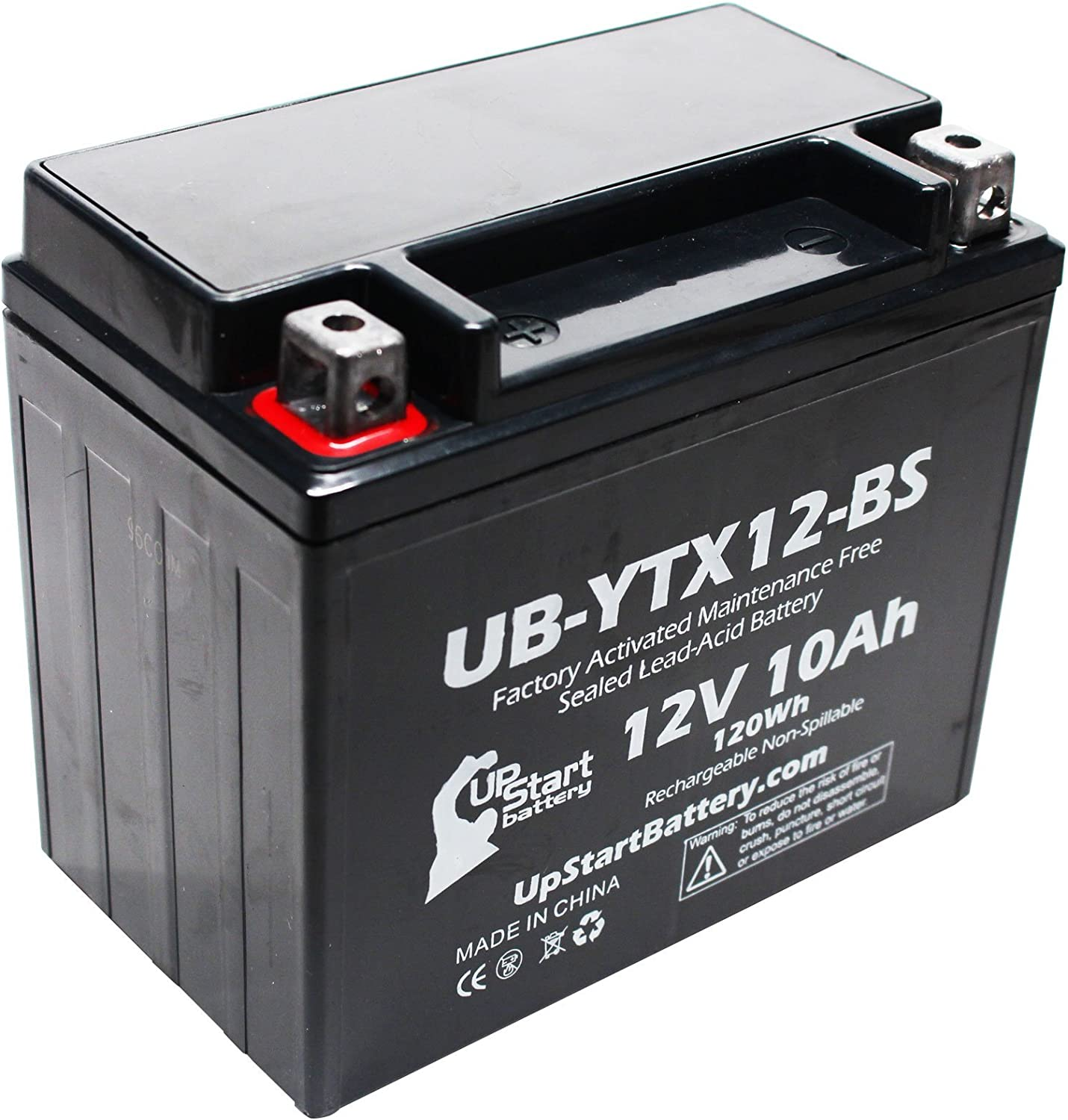 UpStart Battery UB-YTX12-BS